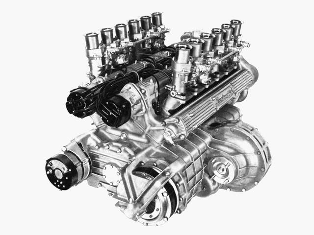Двигатель Lamborghini V12 3.9L