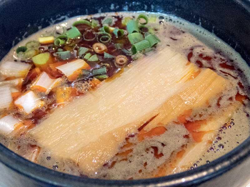 らー麺 山さわ カラニボつけ麺
