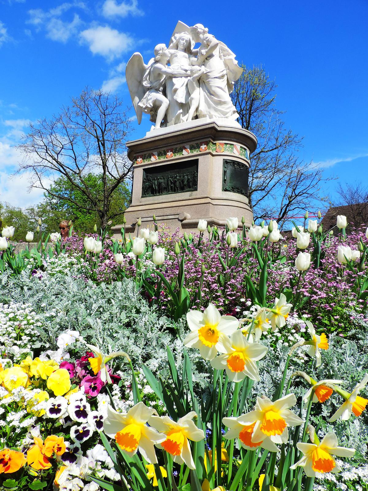 Festival Of Flowers: Basel, Switzerland