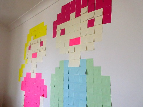 Post-It Self-Portrait Project