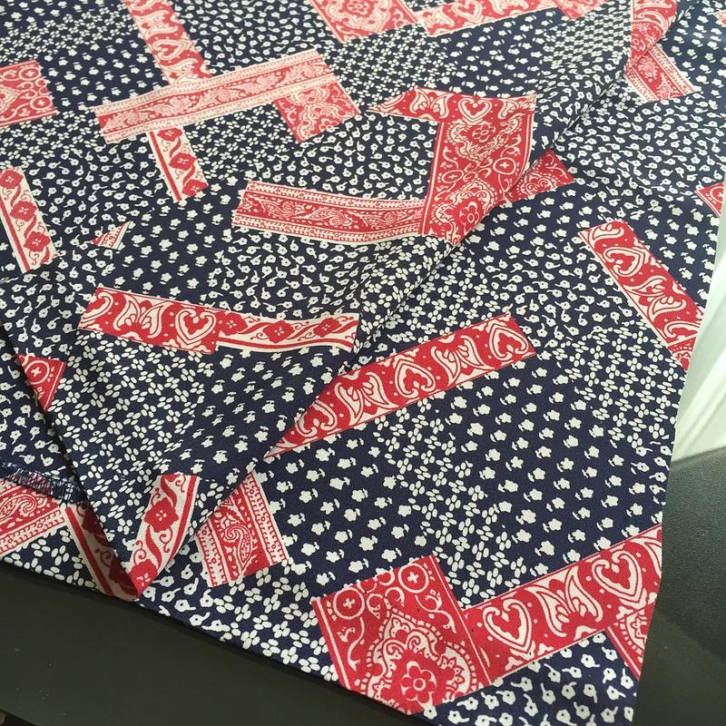 Patriotic Kimono - In Progress