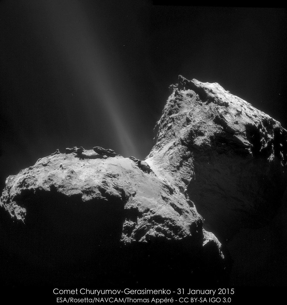 Comet Churyumov-Gerasimenko - 31 January 2015