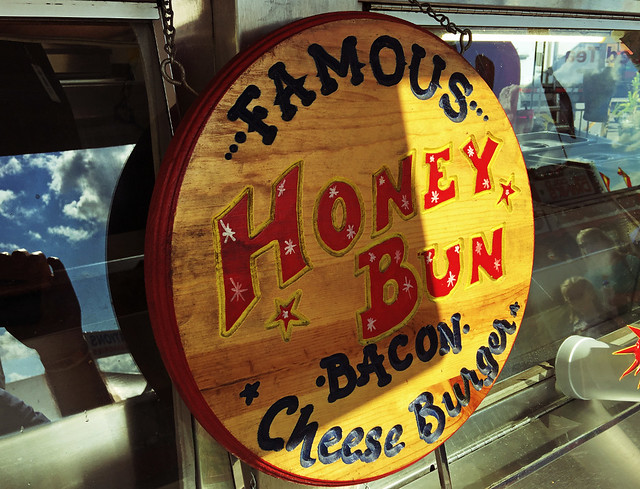 Famous-Honey-Bun-Burger-Sign