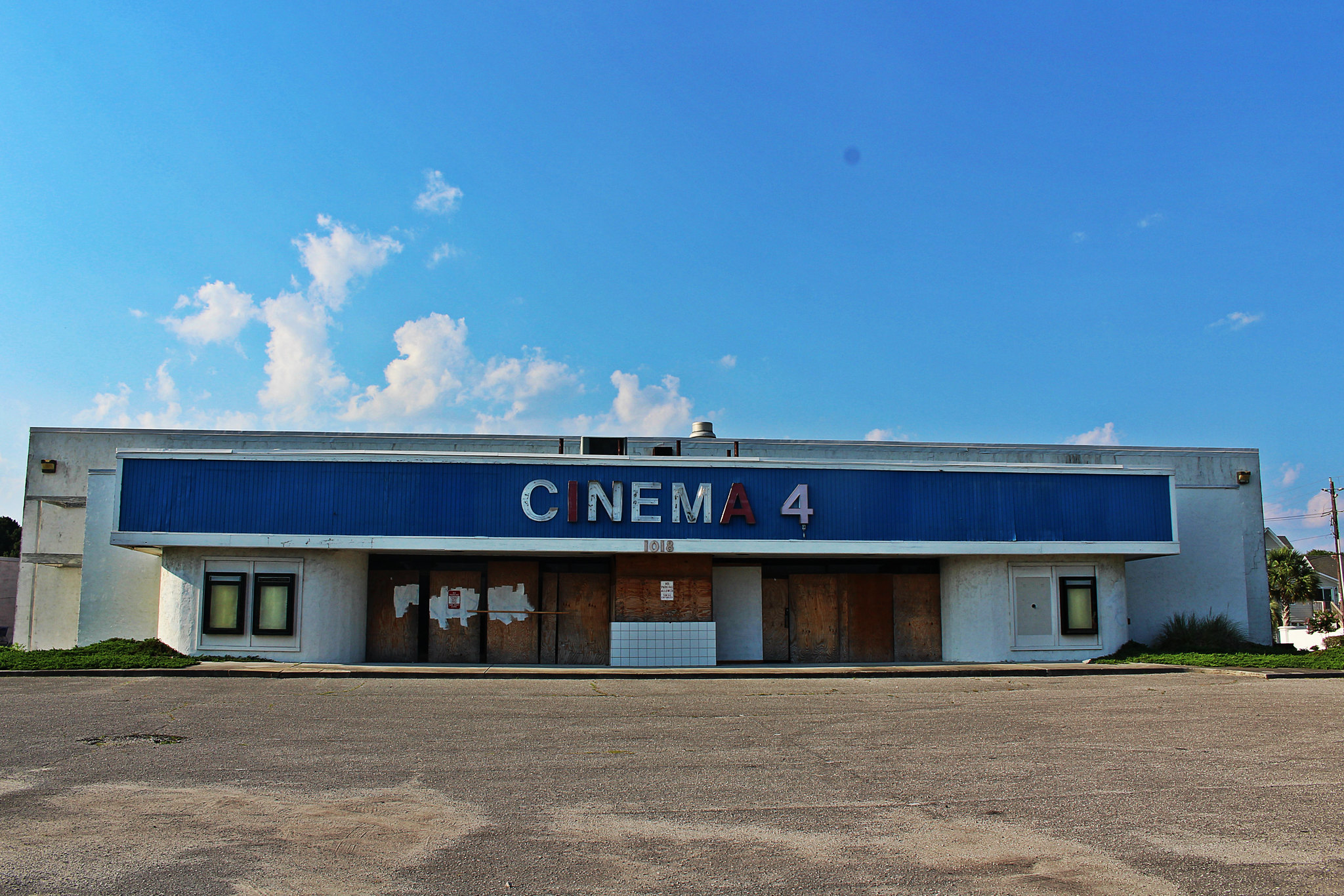 Cinema 4 --  Carolina Beach, North Carolina