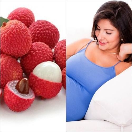 Một số loại quả bà bầu không nên ăn: quả vải