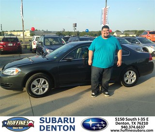Thank You To Christopher Buras On The 2013 Chevrolet Impal