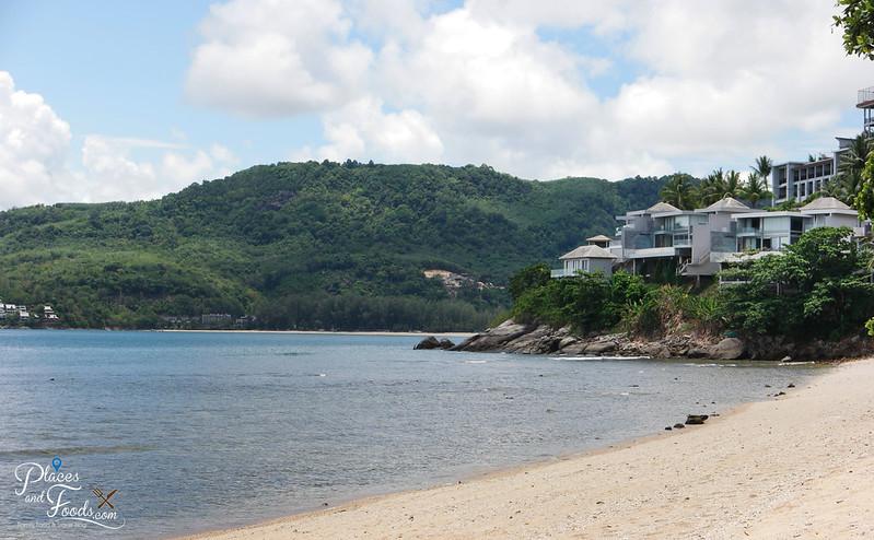 rayee beach side resorts view