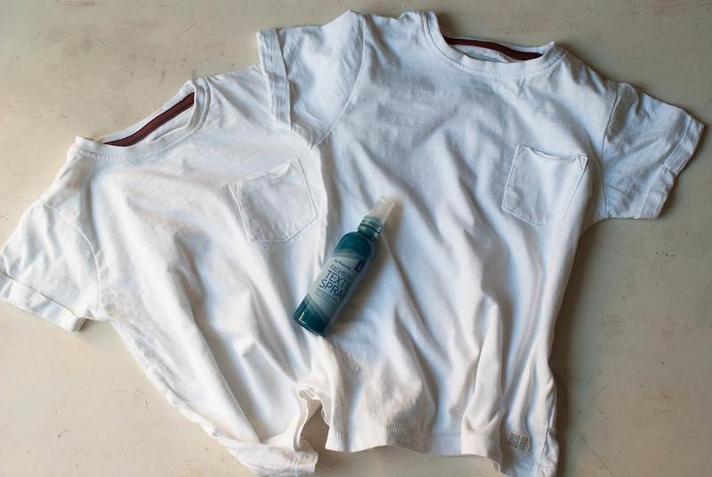 Tunea tus camisetas con fashion spray de la Pajarita