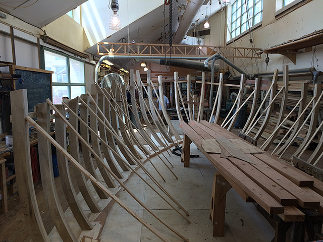 boat making