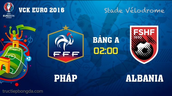 Pháp vs Albania