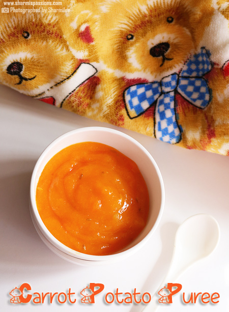 Carrot Potato Puree Recipe