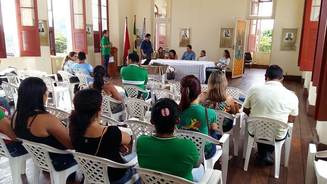 Secretaria de Meio Ambiente avalia plano de controle de desmatamento em Óbidos