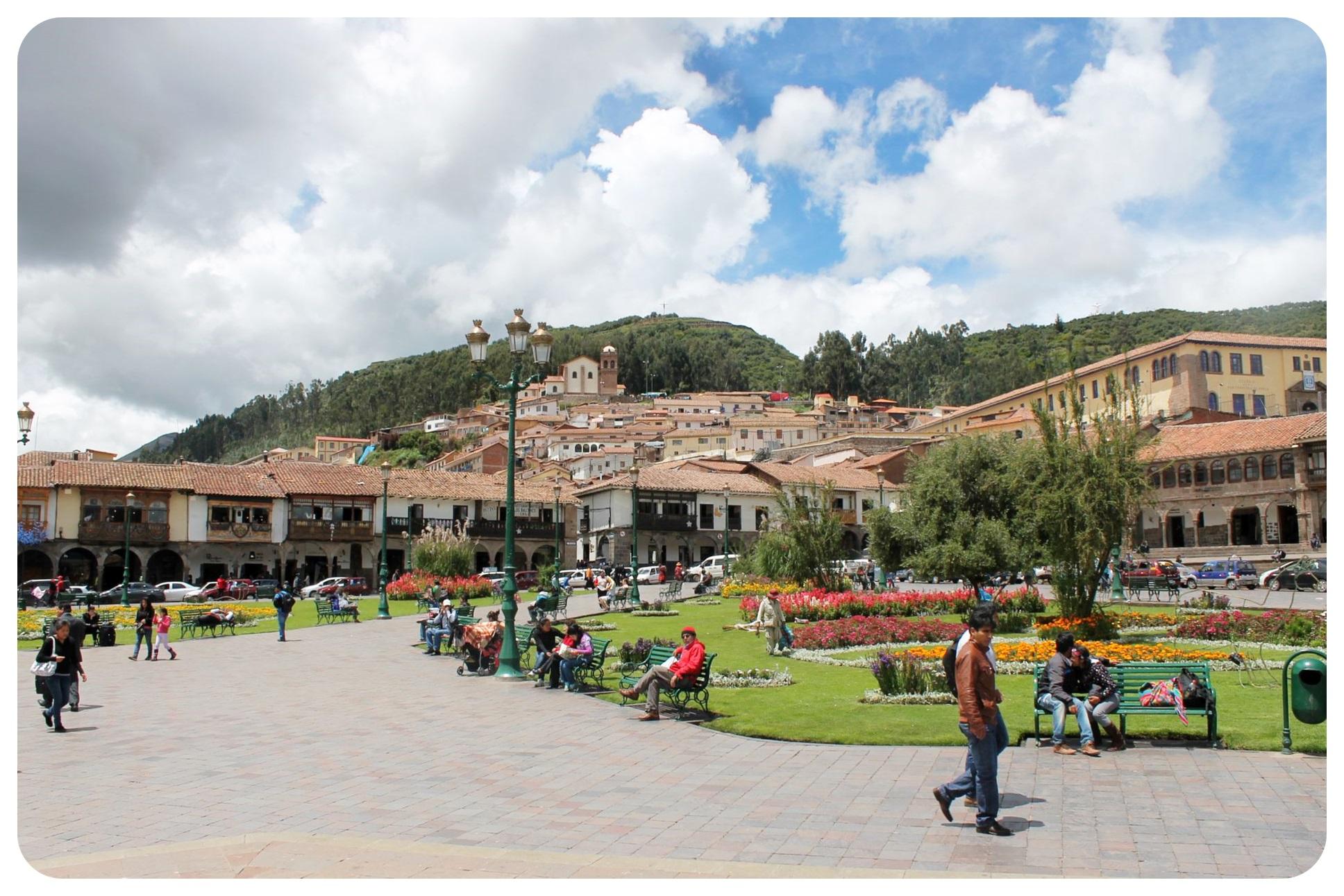 cuzco plaza de armas3