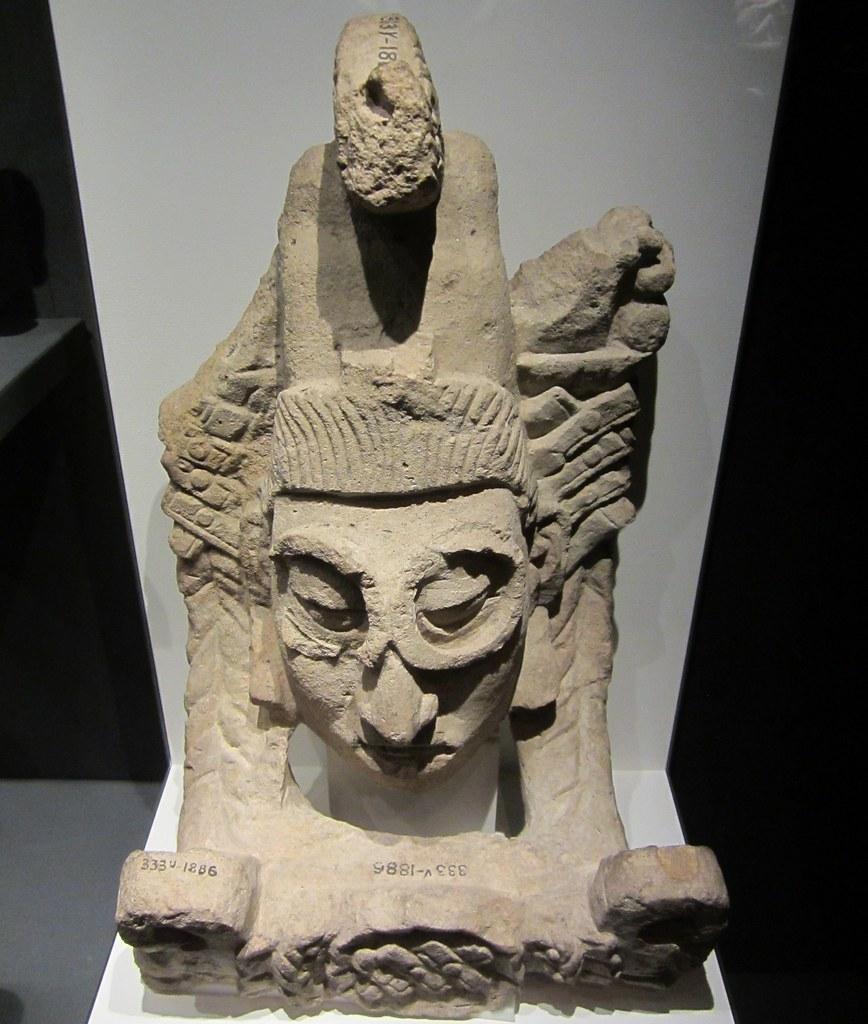 Portrait Head, from Honduras, circa AD 776. Singapore National Museum: British Museum exhibit