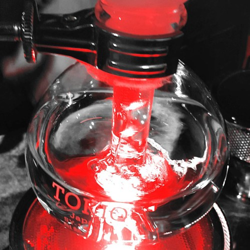 Siphon coffee magic happening. #caffedbolla #singleorigin #siphoncoffee #slc #coffee #roaster #coffeeroaster