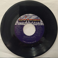 JERMAINE JACKSON:LET ME TICKLE YOUR FANCY(RECORD SIDE-B)