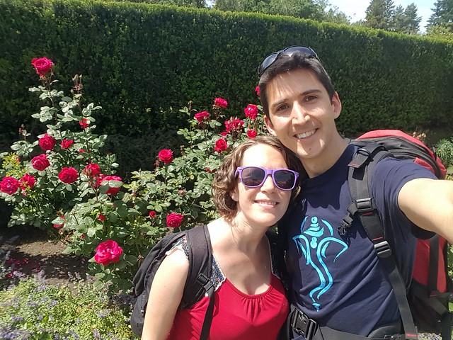 Rose Garden Selfie