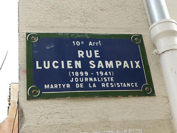 rue Lucien Sampaix