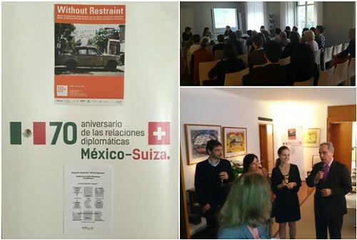Promoción de arte contemporáneo de México y de iniciativa #VenAComer en Berna