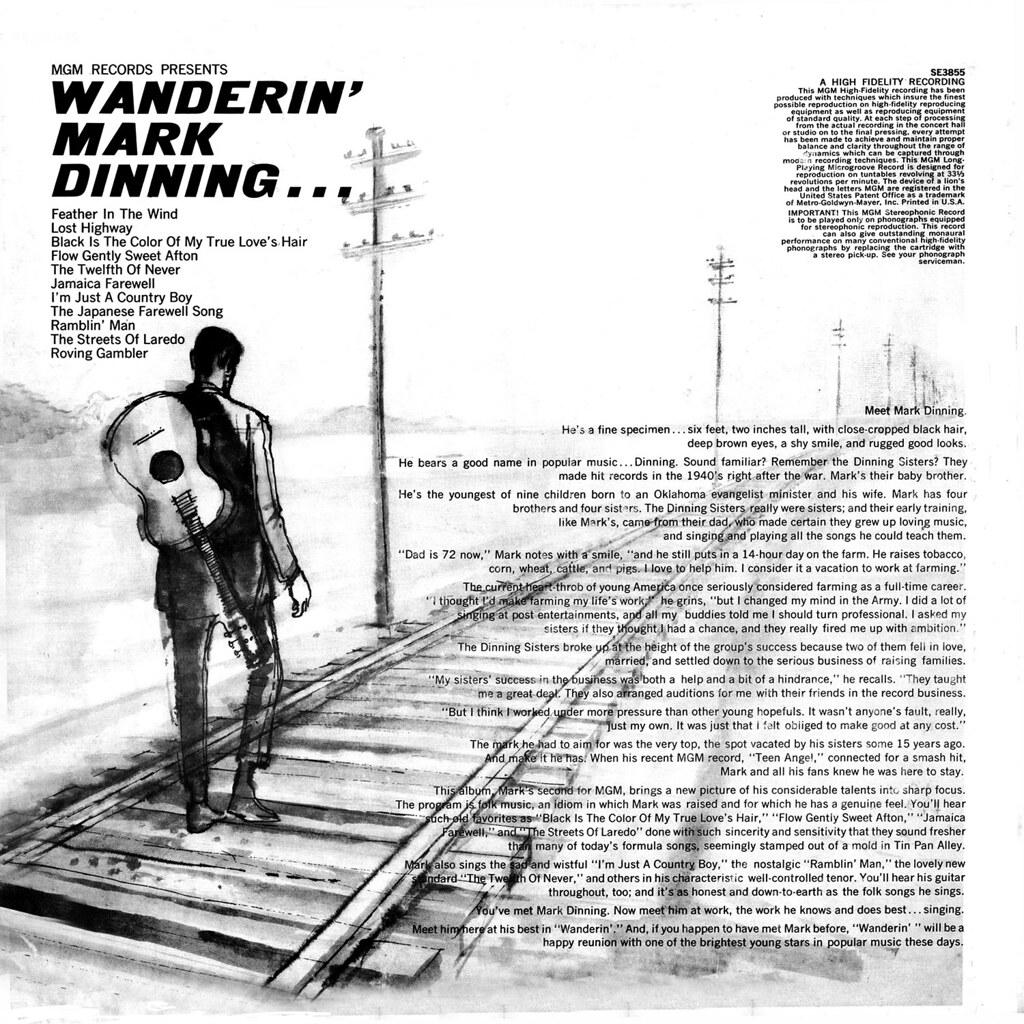 Mark Dinning - Wanderin