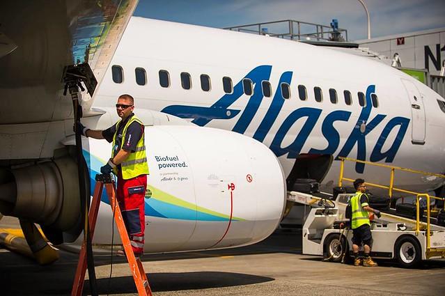 Bioüzemanyaggal kísérletezik az Alaska Airlines is