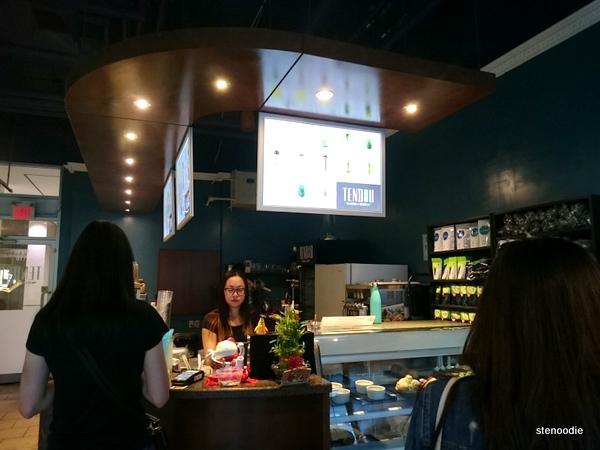 Tendou Matcha & Desserts interior