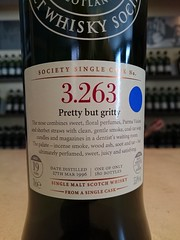 SMWS 3.263 - Pretty but gritty