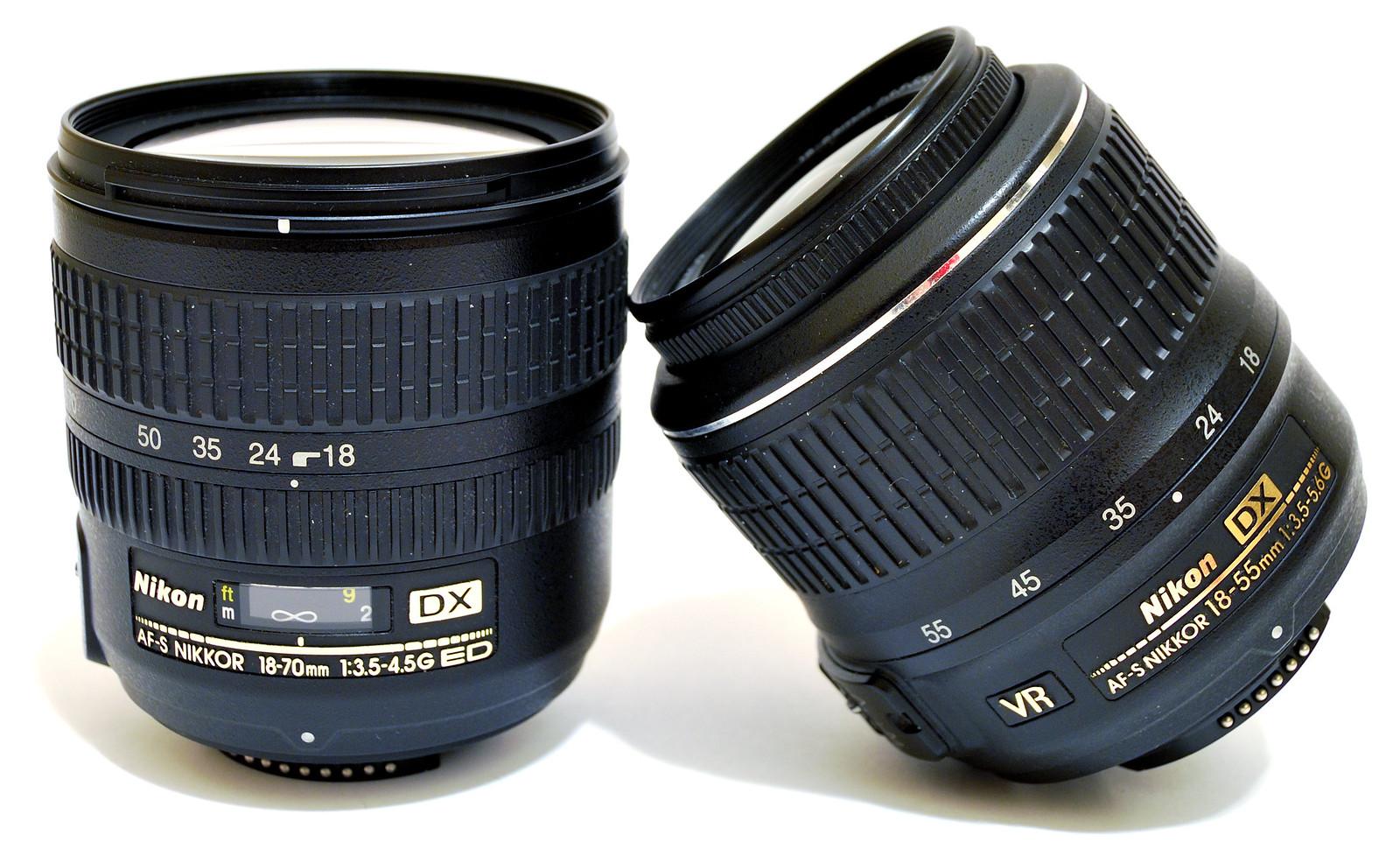 Nikon 18-55mm VS 18-70mm
