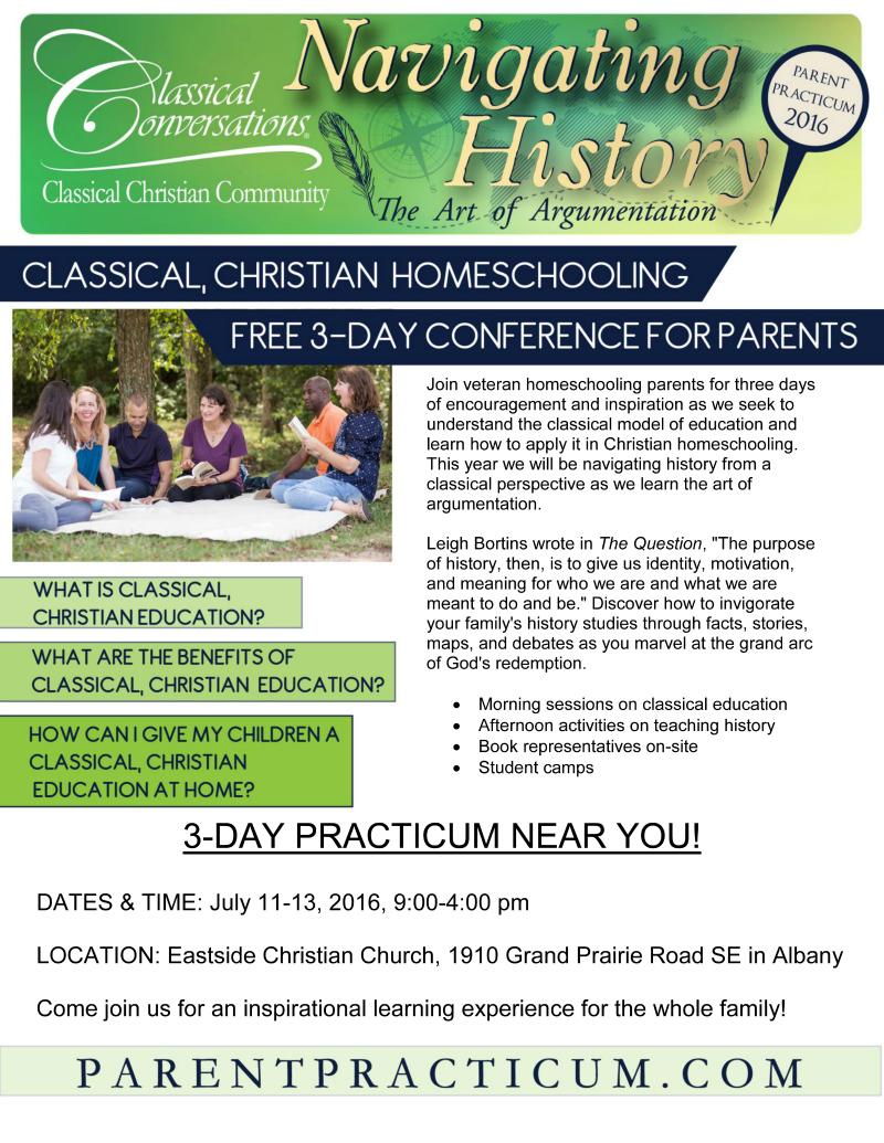 CC Parent Practicum @ Mt. Hope Chronicles