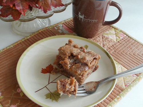 Apple Dapple Cake With Butterscotch Chips