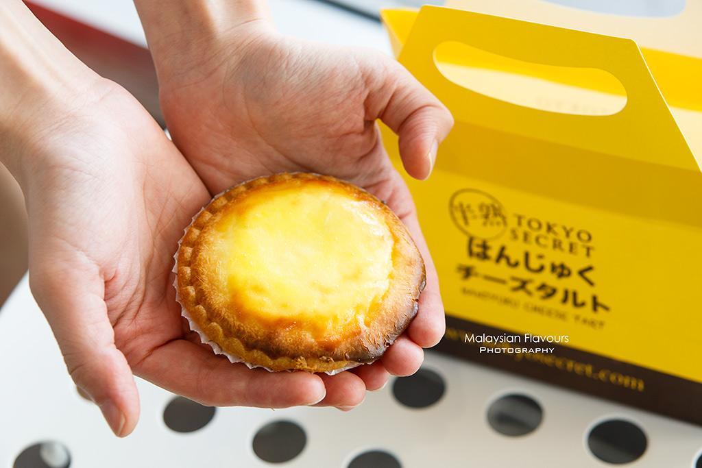 Tokyo Secret Malaysia IPC japanese cheese tart