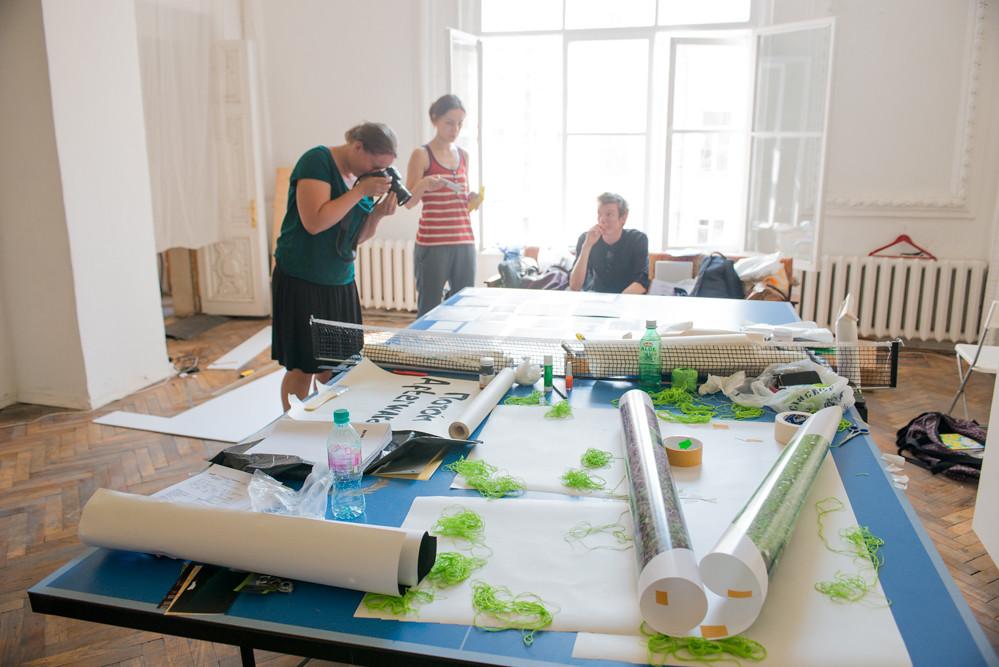 Workshop of Anouk Kruithof at FotoDepartament