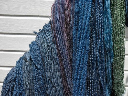 INdigo Skeins close