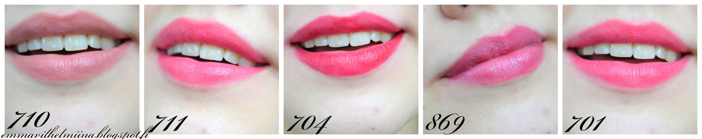 oriflame huulipunat
