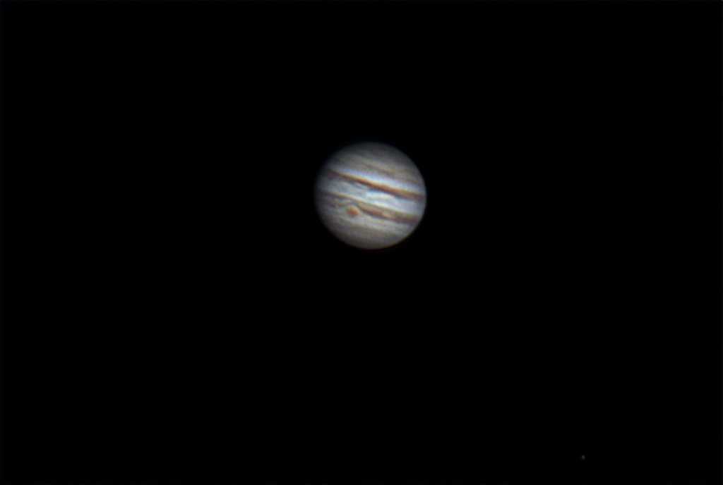 Jupiter with great red spot