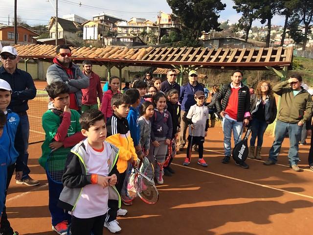 Tour Interescolar y Tenis 10 Bío Bío en Tomé