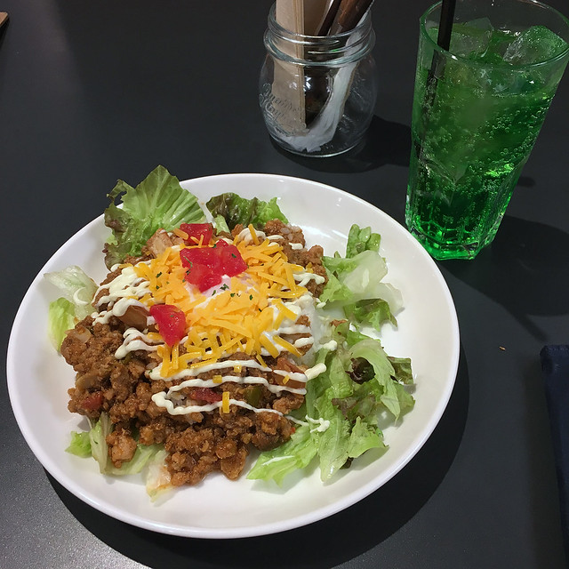 Taco rice at Tokyu Hands Cafe