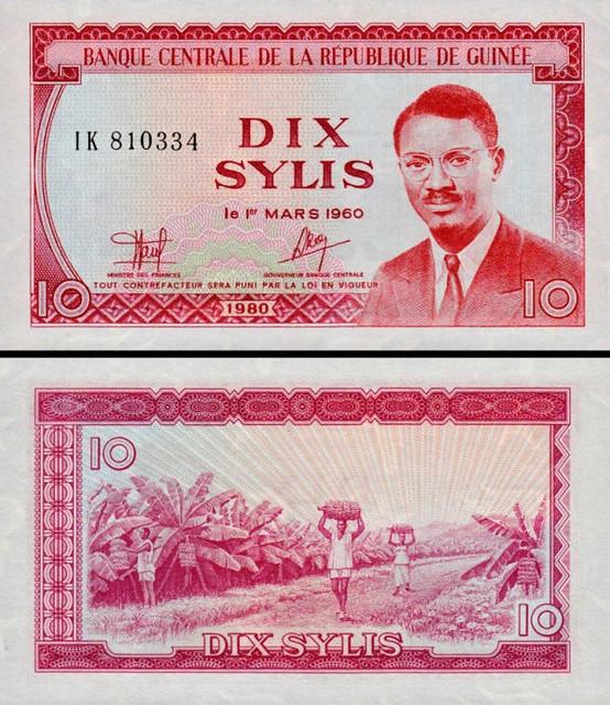 10 Sylis Guinea 1980, P23a