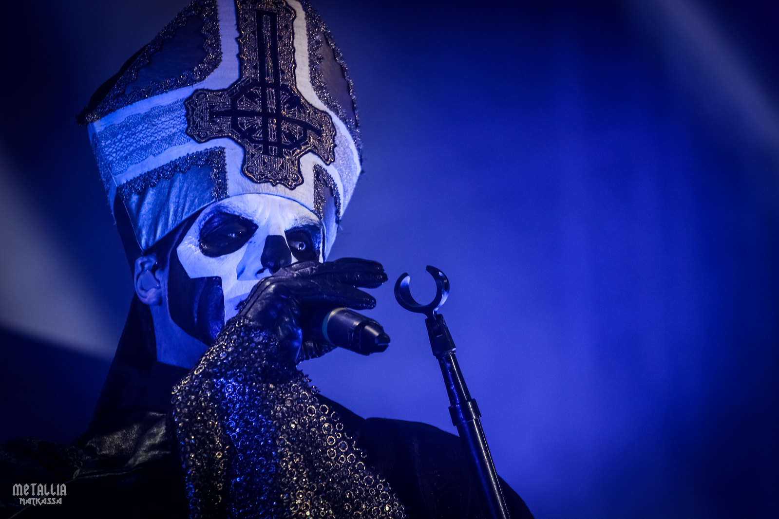 ghost, papa emeritus III, tuska 2016, tuska metal festival, tuska festival, hellsinki for headbangers, ghost band