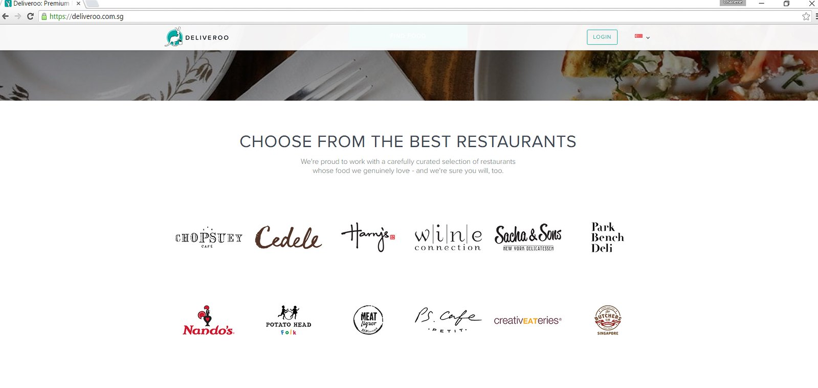Deliveroo best restaurants