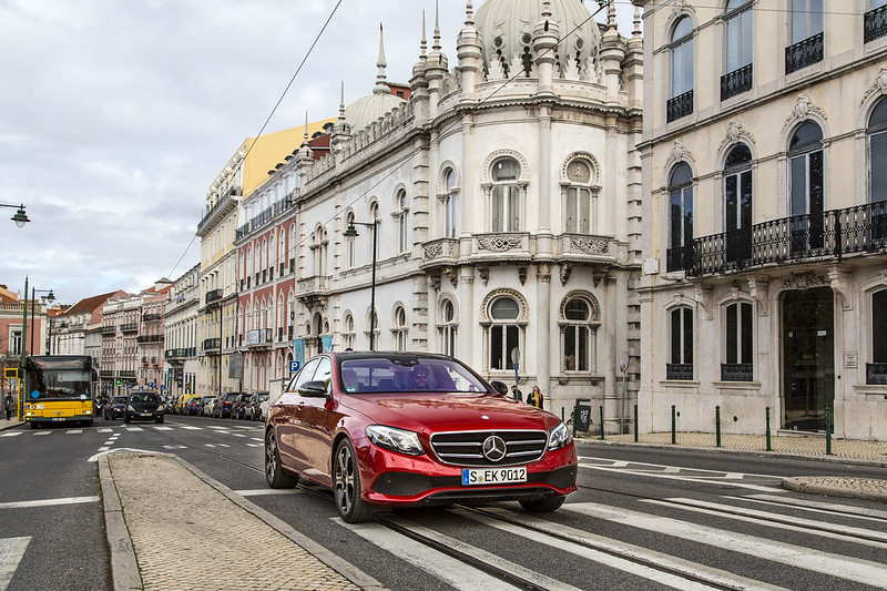 The new E-Class, Press Test Drive, Lisbon 2016