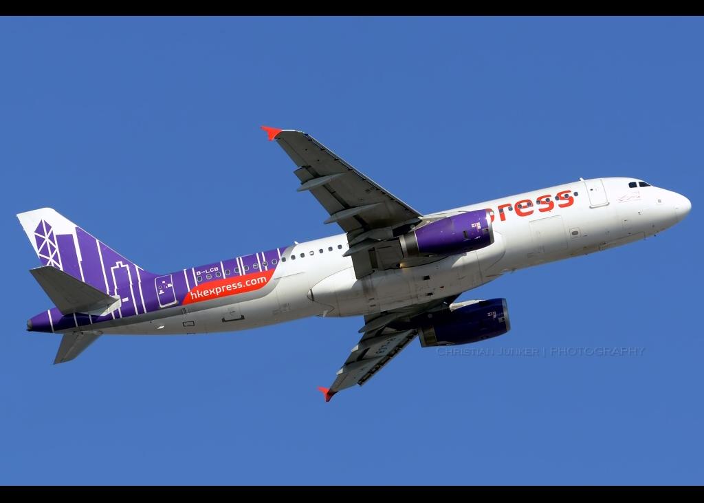 Airbus | A320-232 | HK Express | B-LCB | Hong Kong | HKG | VHHH