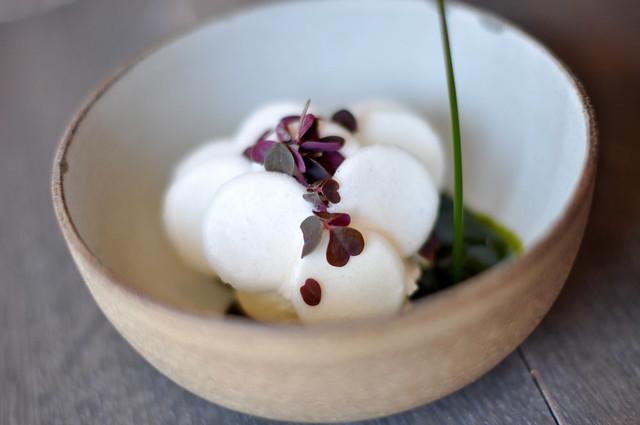 Restaurant Noma: Is af Gammel Dansk med mælk og skovsyre
