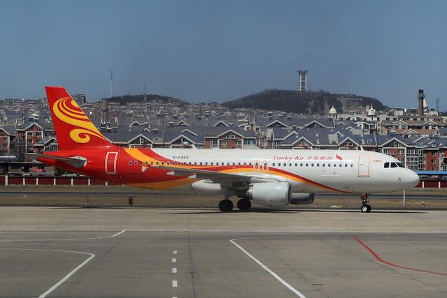 B-6959 | Lucky Air | Airbus A320-214 | DLC