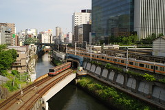 From Hijiri-bashi bridge