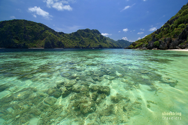 the coral reef off Talisay Beach, Tapiutan Island