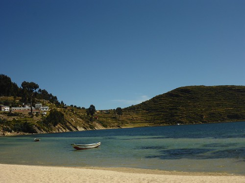 Beach on Isla del Sol