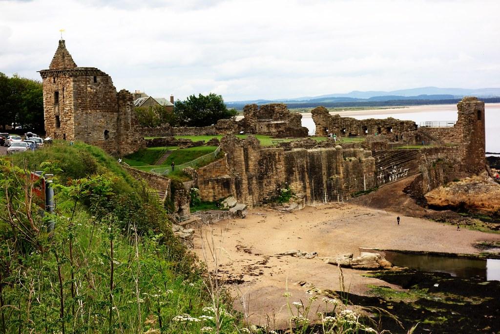 St Andrews Castle, Fife, Scotland
