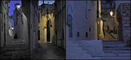 Ceglie Massapica - blue hour