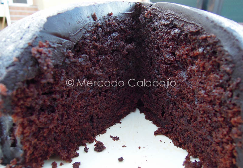 BANANA CHOCOLATE CAKE-13